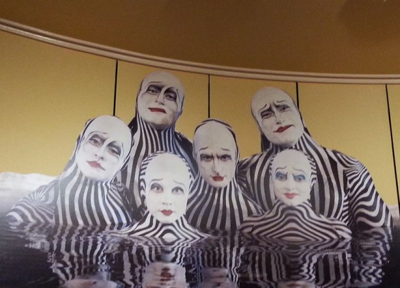 Cirque-Du-Soleil: The zebras