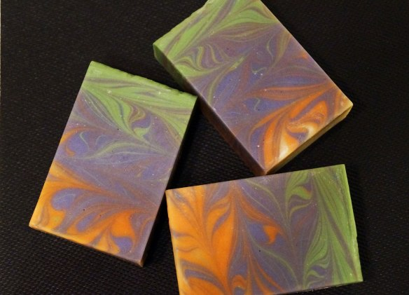 Taiwan Swirl Soap Top
