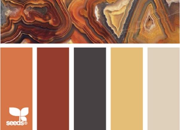 Mineral Autumn Color Palette